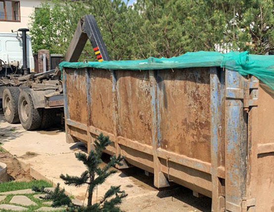 заказать вывоза мусора 20 м3 кубов