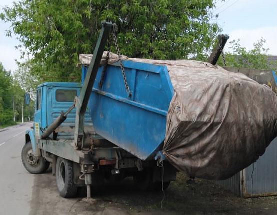 заказ вывоза мусора 8 м3 кубов